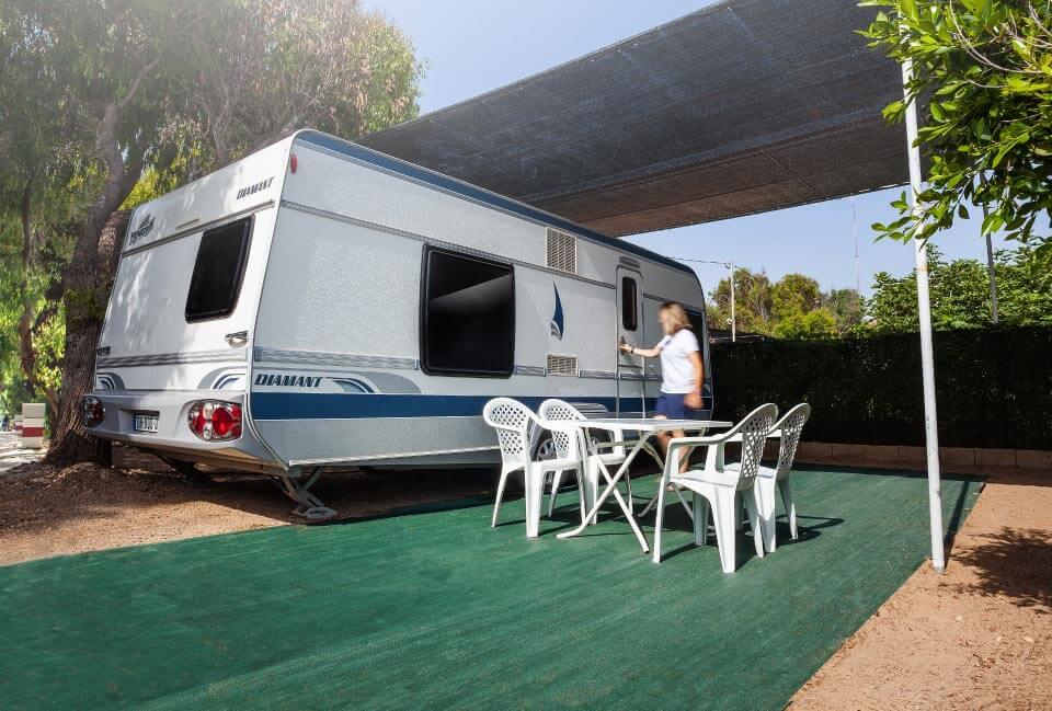 Parcelas Camping Palm Mar