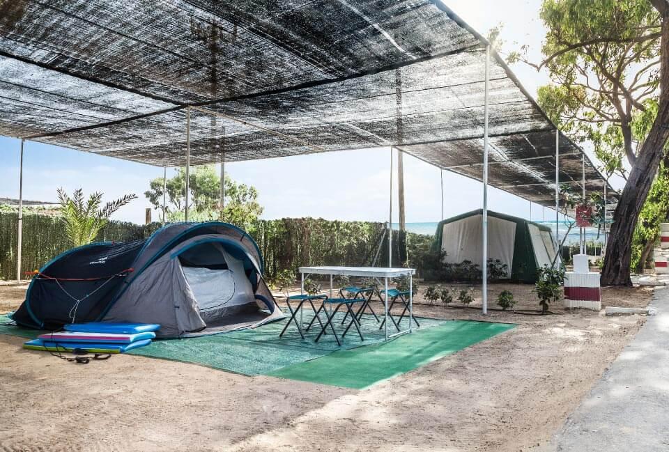 Zona de acampada Camping Palm Mar